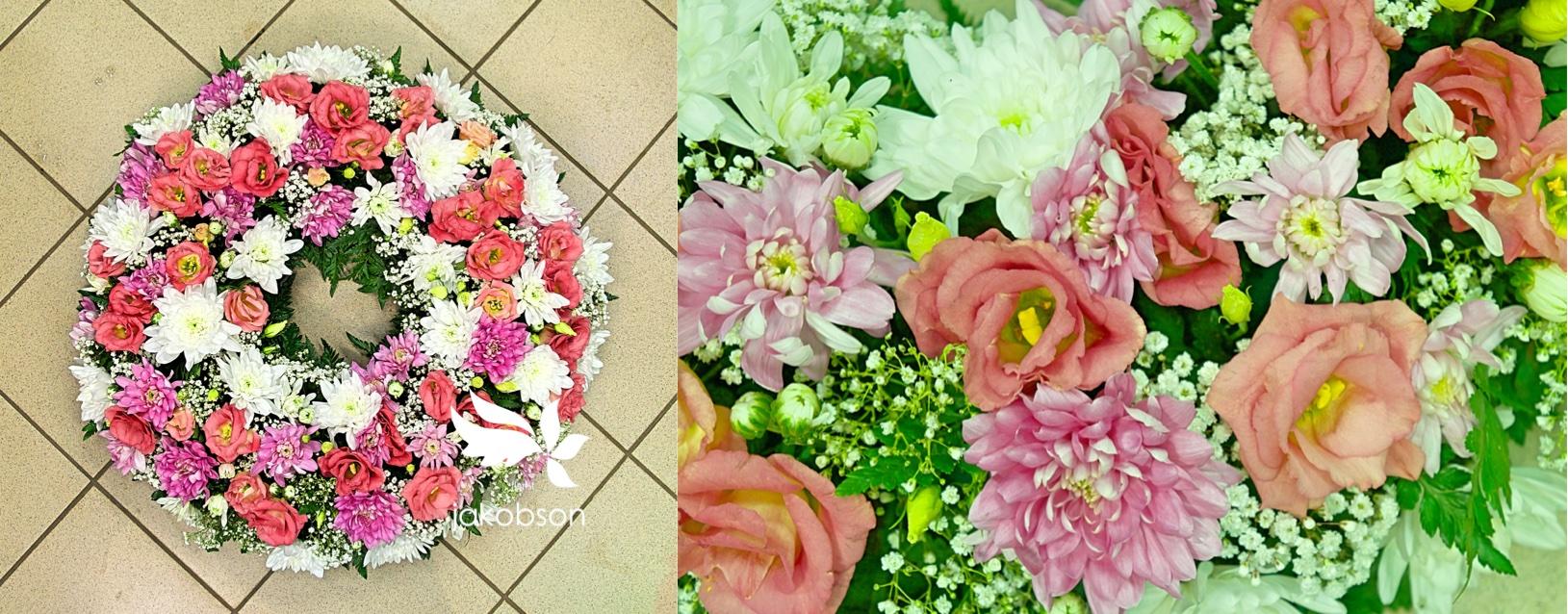 Florist Jakobson - Полный цветов венок.